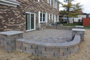 Project Complete: Paver Patio Amplifies Beautiful Backyard