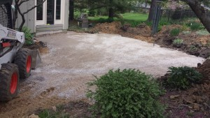 The Progression of a Patio Paver Project
