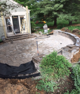 Ft. Thomas Patio, Pergola Project — It's Getting There!