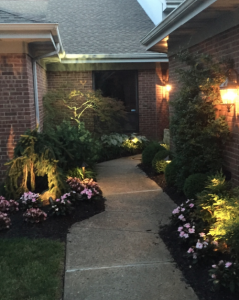 Add Illuminated Dimension with Landscape Lighting