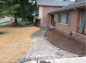 Revamping Front Pathway With Pavers & Modern Design